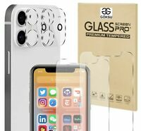 New Anti-Scratch Clear Tempered Glass for iPhone 12 Pro Max 6.7 Screen Protector