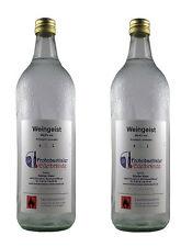 2 L Weingeist (96,4% vol. alk) Primasprit, Reinalkohol, Trinkalkohol, Alkohol
