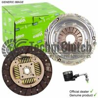 VALEO CLUTCH WITH CSC FOR RENAULT KANGOO EXPRESS BOX 1197CCM 115HP 84KW