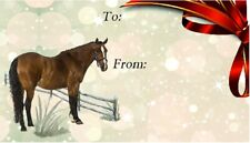 Horse Self Adhesive Gift Labels design No. 2 by Starprint