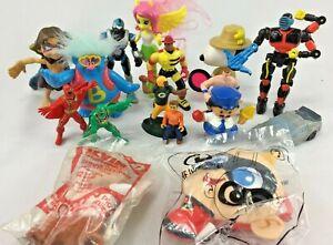 Lot of Various Toys Action Figures Fireman McDonalds Playschool Car Greenbay
