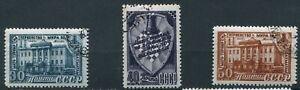 UdSSR 1948 Schach-Weltmeisterschaft Mi. 1292-1294 gestempelt LotNr1003