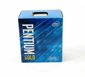 Intel Pentium Gold G5420 2x 3,8GHz 4MB CACHE 8 GT/s SOCKEL 1151 H4 NEU SR3XA
