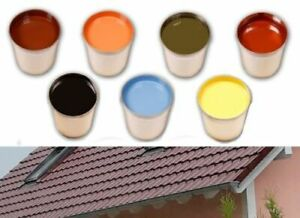 From 13,49 €/ L Acrylic Roof Coating Dachversiegelung Roof Painting Paint Roof