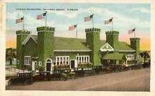 1922 DAYTONA BEACH FL Casino Burgoyne Dances Concerts postcard