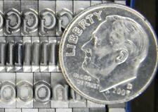 Alphabets Metal Letterpress Printing Type   18pt  LIBRA  CAPS   MN13  4#