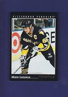 Mario Lemieux HOF 1993-94 PINNACLE Hockey #310 (NM+) Pittsburgh Penguins