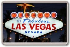 FRIDGE MAGNET - LAS VEGAS SIGN - Large - USA