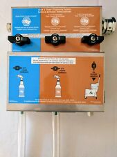 chemical dispensing system for spray bottles and mop buckets