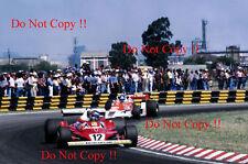 Gilles Villeneuve Ferrari 312 T2 Argentine Grand Prix 1978 Photograph 3