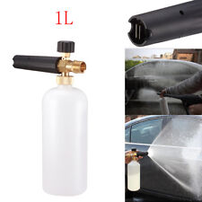1L Car Wash Cleaner Foam Lance Sprayer Washer Soap Bottle for Pressure Spray Gun