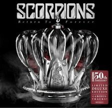 SCORPIONS/RETURN TO FOREVER - 50th Anniversary LIMITED DELUXE EDITION * NEW CD