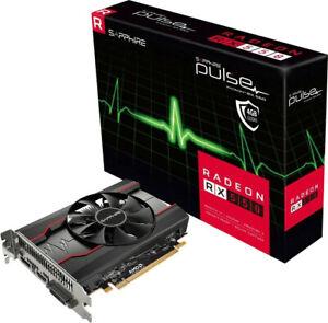 Sapphire Pulse AMD Radeon RX 550 2GB GDDR Kompakte Gaming Grafikkarte schwarz
