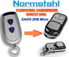 Normstahl EA433 2KM Micro Kompatibel Handsender 433,92Mhz Rolling code