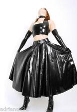 Jupe Longue Latex Ample Long Rubber Skirt XS-XXXL