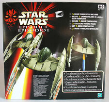 STAR WARS EPISODE I TRADE FEDERATION DROID STARFIGHTERS HASBRO 1998 NEW MISB !