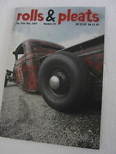Rat Rod Hot Rod Rolls & Pleats Magazine #24