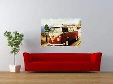 VOLKSWAGEN VW VAN CAR CAMPER COOL GIANT ART PRINT PANEL POSTER NOR0557