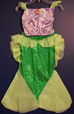 New Disney Parks Authentic ARIEL Little Mermaid Costume Dress Girls XXS (2/3)