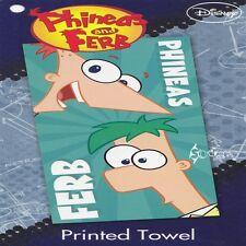 Disney Phineas and Ferb Cotton Beach Bath Towel Agent P
