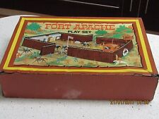 VINTAGE MARX TOYS FORT APACHE 26038 RARE TOY C.1960's RARE TINPLATE CARRY CASE