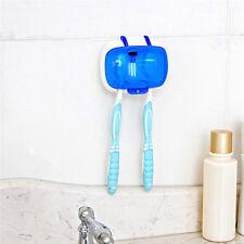 Dental Care Double UV Family Toothbrush Sterilizer Sanitizer Cleaner Holder Tool