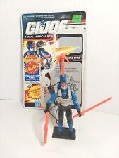 New listing Vintage 1991 Hasbro G.I.Joe Snake Eyes v4 - 95% complete - great condition