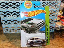 Hot Wheels 2014 Walmart ZAMAC Toyota AE-86 Corolla HW WORKSHOP