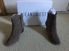 Zip Block Heel Medium Width (B, M) Casual Boots for Women