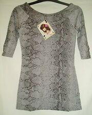 Lockre Sitzende 3/4 Arme Damenblusen,-Tops & -Shirts im Tuniken-Stil für Business