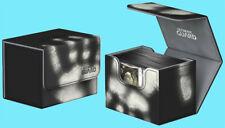 ULTIMATE GUARD CHROMIASKIN BLACK SIDEWINDER 80+ DECK CASE Side Loading Card Box