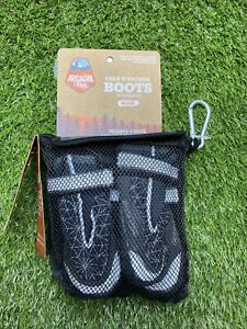 Arcadia Trail Medium Cold Weather Dog Boots Grey Winter Booties NEW