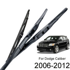 3Pcs Front Rear Windscreen Wiper Blades For Dodge Caliber 06-12 24''17''11''