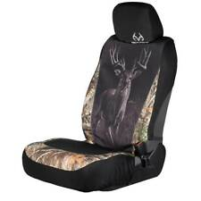 Realtree Camo Universal Seat Cover Wildlife Buck, Camouflage Auto Car Truck