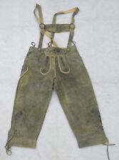 LEDERHOSEN Pantaloni corti da uomo di pelle scamosciata COUNTRY MADDOX