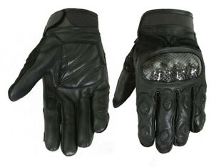 Leather/ Textile Sporty Glove