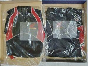 NEW Honda Aquatrax Slippery Performance Wetsuit w Jacket Jetski Black/Red Sz M L