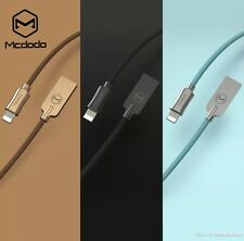 MCDODO Lightning 4/6 FT Nylon Braided Charger USB Data Cable for iPhone 8 XS 7 6