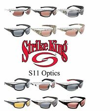 Strike King SG - S11 Optics 100% Polarized Sunglasses Choose Model Men & Women