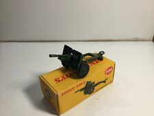 Dinky 686 25 Pounder Field Gun Within Its Original Box