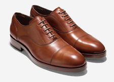 NEW COLE HAAN MEN'S HARRISON GRAND OXFORD (C24160) TAN LEATHER 8 MED $295 MSRP