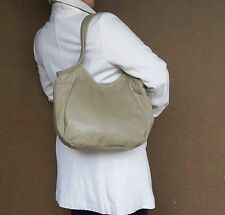 Sand Leather Tote Bag, Fashion Shoulder Handbag, Handmade Totes, Handbags Amelia