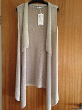 GELCO KNITTED LONG WATERFALL WAISTCOAT - NEW