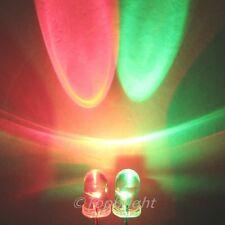 50 PCS  5mm 8Kmcd Fast Flashing RED/GREEN BI-COLOR LED