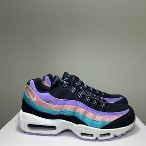 Nike Air Max 95 ND Have A Nike Day Black Jade Purple BQ9131-001 Mens Size 12 NEW