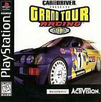 Car and Driver Grand Tour Racing 98 Playstation Game PS1 Used Complete