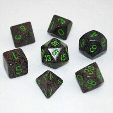 Polyhedral 7-Die Chessex Dice Set - Speckled Earth CHX 25310
