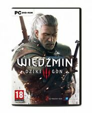 The Witcher 3:Wild Hunt -  PC DVD, No Key or Code,  English & Polish