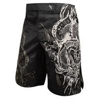 Hayabusa Mizuchi 2.0 MMA Shorts BJJ Muay Thai Kickboxing Fight Mens Black Ltd Ed