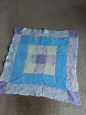 """Small Square Patchwork Knitted Mat 31""""×29"""""""